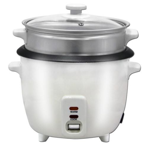 Herzberg HG-8005 Παρασκευαστής ρυζιού και Ατμομάγειρας 700W 1.8L
