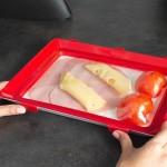 Clever Tray Δίσκος Αεροστεγούς Αποθήκευσης Τροφίμων 1+1
