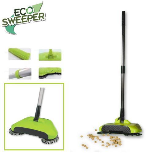 ECO Sweeper Χειροκίνητη σκούπα 3 σε 1 για όλες τις επιφάνειες