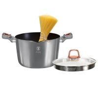 Berlinger Haus Κατσαρόλα 24cm με Καπάκι-Τρυπητό για Ζυμαρικά και Ρύζι BH-6015