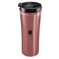 Berlinger Haus Ανοξείδωτο Θερμός - Παγούρι Καφέ 0,5L i-Rose BH-6409