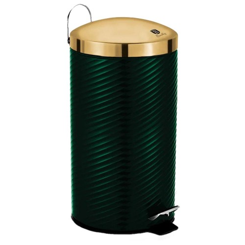 Berlinger Haus Κάδος Aπορριμμάτων με Πεντάλ 12L Emerald Collection BH-6440