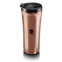 Berlinger Haus Ανοξείδωτο Θερμός - Παγούρι Καφέ 0,5L Rose Gold BH-6488