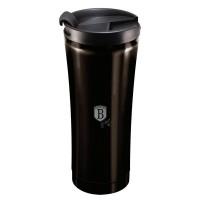 Berlinger Haus Ανοξείδωτο Θερμός - Παγούρι Καφέ 0,5L Μαύρο BH-6821