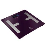Berlinger Haus Ψηφιακή Ζυγαριά Μπάνιου για Υπολογισμό Λίπους και Δείκτη Μάζας Σώματος Max 150Kg σε μωβ χρώμα BH-9223