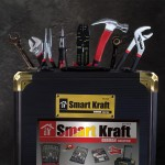 Smart Kraft Σετ εργαλείων 295 τμχ με πρακτική βαλίτσα μεταφοράς SK-0009