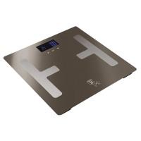 Berlinger Haus Ψηφιακή Ζυγαριά Μπάνιου με Υπολογισμό Λίπους και Δείκτη Μάζας Σώματος Max 180Kg Carbon Edition BH-9103