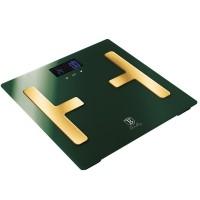 Berlinger Haus Ψηφιακή Ζυγαριά Μπάνιου με Υπολογισμό Λίπους και Δείκτη Μάζας Σώματος Max 150Kg Emerald  Collection BH-9108
