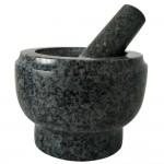 Blaumann Γουδί & Γουδοχέρι 14x10cm από Γρανίτη, BL-3354