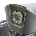 Herenthal Επιτραπέζιο Μίξερ - Κουζινομηχανή 2200W Max Ασημί HT-PKM2200.472.9BG-SLV