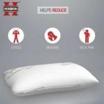 HG-5076 Μαξιλάρι Μπαμπού με Αφρό Μνήμης Royalty Comfort
