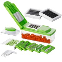 Herzberg Πολυκόφτης Λαχανικών με Λεπίδες από Ανοξείδωτο Ατσάλι HG-8045