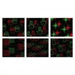 Προβολέας με 6 εικόνες Star Shower Laser Magic