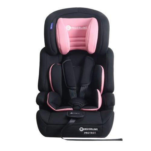 Παιδικό καθισματάκι αυτοκινήτου Ροζ Kinderline CS-702.1-PNK