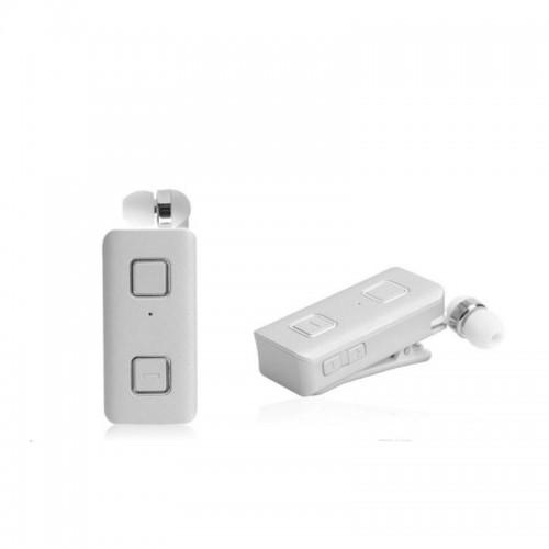 Cube Retractable Bluetooth Ακουστικό Με δόνηση Multipoint Paradox - Άσπρο