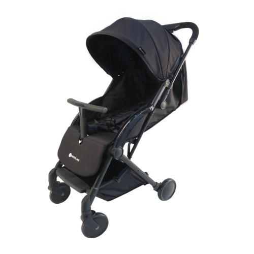 Παιδικό καροτσάκι Μαύρο Kinderline STL-733.1-BLK