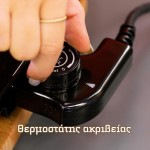 HomeVero Smokeless Grill Deluxe Σετ άκαπνη ψησταριά με έξτρα λεία πλάκα ψησίματος 1000W HV-24147