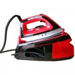 Ατμοσύστημα σιδερώματος Royalty Line DBST-2300W.1-RED και Ατμοκαθαριστής Χειρός 1050W HomeVero HV-18362 + ΔΩΡΟ Πακέτο Μάσκες 50 τμχ