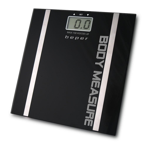 Beper 40.808Α Ηλεκτρονική Ζυγαριά με υπολογισμό λίπους σώματος 150Kg Max