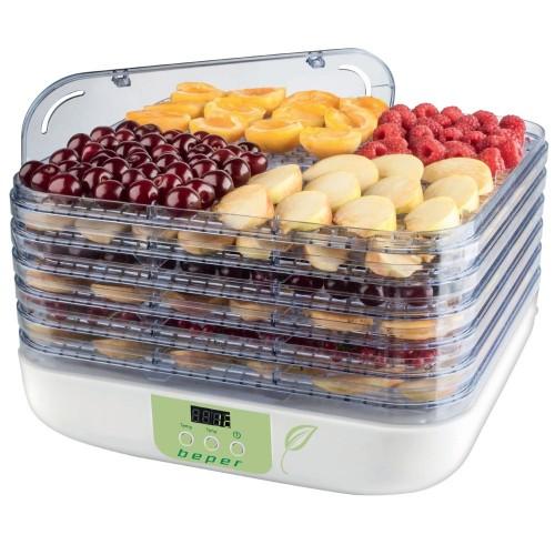 Beper 90.507 Ψηφιακός Αποξηραντής Φρούτων και Λαχανικών 350W