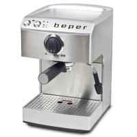 Μηχανή Espresso από ανοξείδωτο ατσάλι Beper 90.521