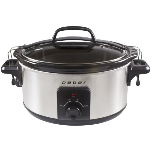 Slow Cooker – Ηλεκτρονική Γάστρα 5.5L Beper BC.500