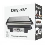 Beper Τοστιέρα - Grill με άνοιγμα πλακών 180° 2200W P101TOS500