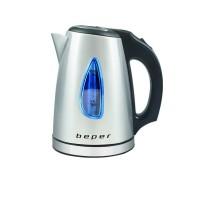 Ηλεκτρικός ανοξείδωτος βραστήρας νερού 1L 1630W Beper BB.002