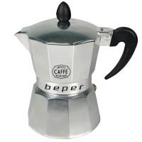 Καφετιέρα espresso 3 φλιτζανιών κατάλληλη και για επαγωγικές εστίες, Beper CA.014