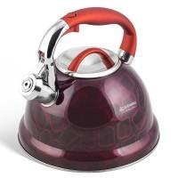 Edenberg Βραστήρας Νερού - Τσαγιερό 3,5Lt σε μπορντό χρώμα EB-1910-RED