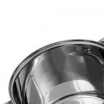 Edenberg Σετ κατσαρόλες με γυάλινα καπάκια 8 τμχ EB-521