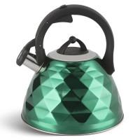 Edenberg Βραστήρας Νερού - Τσαγιερό σε πράσινο χρώμα 3Lt EB-8821-GRN