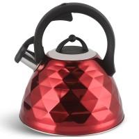 Edenberg Βραστήρας Νερού - Τσαγιερό σε κόκκινο χρώμα 3Lt EB-8821-RED