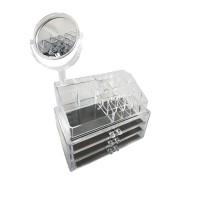 Βάση Οργάνωσης Καλλυντικών με 3 Συρτάρια & Καθρέπτη Ακρυλική ORG-2204Μ