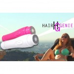 HAIR GENIE Φορητή συσκευή άμεσης & ανώδυνης αποτρίχωσης Ροζ
