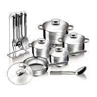 Σετ Αντικολλητικών Μαγειρικών Σκευών 17 τμχ Blaumann Gourmet Line BL-3133