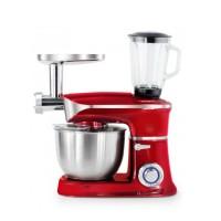 Royalty Line Κουζινομηχανή 1900W max | RL-PKM1900.7BG-RED Κόκκινη