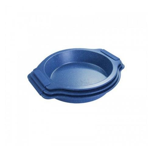 Σετ Ταψιά - Φόρμες Ψησίματος Αντικολλητικά, 3τμχ, 35/37/39cm, RL-MMR3-BLUE