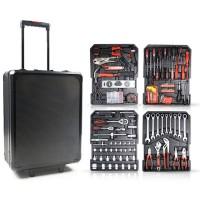 Tools Master TM409BLG Σετ εργαλείων 409 τεμαχίων σε πρακτική βαλίτσα μεταφοράς