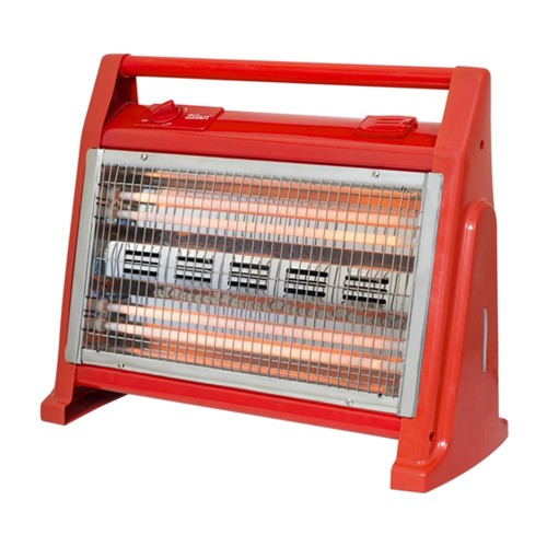 Zilan Θερμάστρα χαλαζία με υγραντήρα κόκκινη 1600W ZLN1114-RED