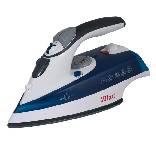 Zilan Σίδερο Ατμού με Κάθετη Παροχή Ατμού Μπλε ZLN8082-BLUE