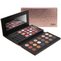 Zmile Cosmetics Παλέτα - Σετ μακιγιάζ 37 τεμαχίων με ενσωματωμένο καθρεφτάκι