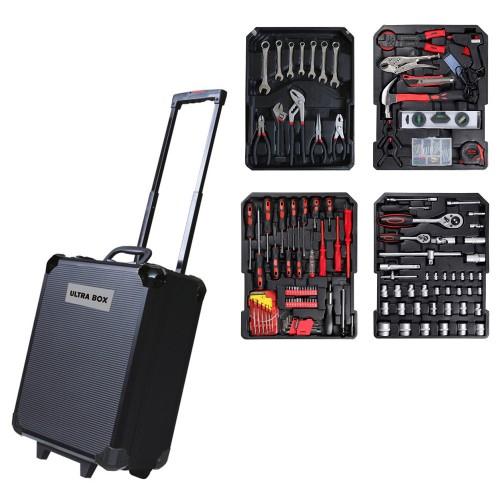Ultra Box Σετ εργαλείων 399 τεμαχίων σε πρακτική βαλίτσα μεταφοράς TOOLSET-2