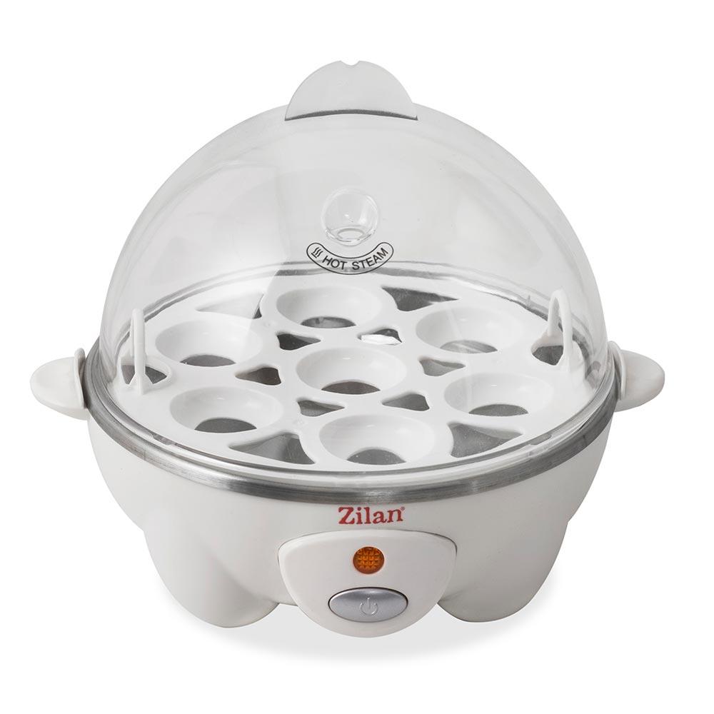 Zilan Βραστήρας Αυγών 7 Θέσεων 360W Άσπρος ZLN8068-WHITE